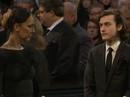 """Sau tang lễ chồng, """"họa mi"""" Celine Dion tiễn biệt anh"""