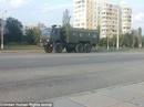 Xe tăng Nga rầm rộ áp sát biên giới Ukraine