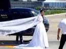 Đến đám cưới bằng trực thăng, cô dâu gặp tai nạn đau lòng
