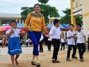Tràn ngập niềm vui ở ngôi trường do Báo Người Lao Động trao tặng