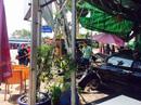 Tên cướp xe hơi gây tai nạn, tông thẳng quán cà phê