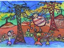 Học sinh Việt Nam đạt giải thi vẽ tranh