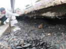 Khẩn trương khắc phục sụt lún trên đường Hồ Chí Minh