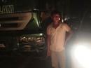 Gây tai nạn trong đêm, xe tải bỏ trốn vẫn bị CSGT tóm gọn