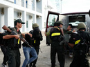 """Đặc nhiệm """"đấu"""" khủng bố tại Nhà máy lọc dầu Dung Quất"""