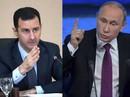 Tổng thống Putin điện đàm với ông Assad, bàn tương lai Syria