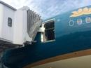 Siêu máy bay Boeing 787-9 gặp sự cố tại Nội Bài