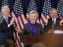 Bà Clinton nổi trận lôi đình trong đêm thua cuộc