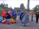 Mưa gió thổi 1.500 người Mỹ tiệc tùng trên sông sang Canada