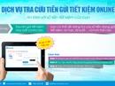 Tra cứu tiền tiết kiệm online