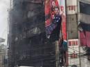 Cháy lớn thiêu rụi siêu thị điện máy 6 tầng
