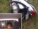 CSGT bắt kẻ cướp xe gắn máy