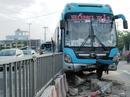 TP HCM: Gần trăm người kêu cứu trên 2 xe khách gặp nạn