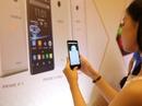 Smartphone có camera bảo mật mống mắt