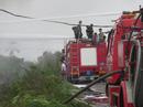 Cháy lớn ở công ty nhựa tái sinh, lửa khói ngùn ngụt