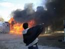Pháp: Trại tị nạn rừng Calais giảI tán trong khói lửa bạo lực