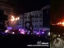 Chiến đấu cơ Trung Quốc lao vào khu xưởng nửa đêm