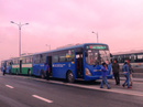 Ba xe buýt tông nhau trên cầu Rạch Chiếc