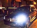 """Tài xế xe Mercedes không BKS rồ ga bỏ chạy khi gặp """"khắc tinh"""""""