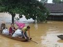 Mưa lũ, thủy điện xả nước, 3 xã ở Hà Tĩnh bị cô lập