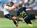 """Clip: Kane lập cú đúp, Tottenham """"vùi dập"""" Inter"""