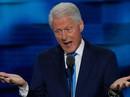 """Ông Clinton """"lỡ lời"""" về bệnh tình của bà Hillary"""