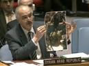 """Đại sứ Syria trưng """"ảnh giả"""" tại Liên Hiệp Quốc"""