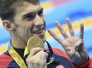 Phelps phá kỷ lục nghìn năm, giành HCV thứ 4 tại Rio