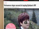 Ca sĩ Việt bị tố đạo nhái sao Hàn xin lỗi