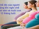 Không quy định thời gian tối thiểu nghỉ dưỡng thai