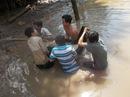 Bắt được cá hô vàng nặng 125,5 kg