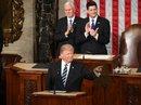Phát biểu tại quốc hội, ông Trump hạ giọng