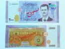 Syria in hình tổng thống Assad lên đồng nội tệ