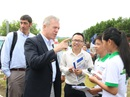 Đại sứ Hoa Kỳ Ted Osius khen HS Quảng Nam hiểu biết loài voi