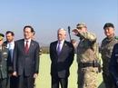 """Bộ trưởng Quốc phòng Mỹ đến gần """"lò lửa"""" Triều Tiên"""