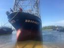 Bình Định: Tàu vỏ thép hư hỏng đầu tiên được hạ thủy