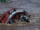 Hình ảnh hãi hùng trước và sau khi chìm tàu ở Bạc Liêu