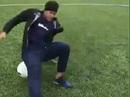 Phô diễn kỹ thuật, Neymar té sấp mặt