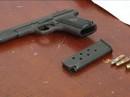 Bắt quả tang chủ lô đề, thu súng K54 và 6 viên đạn