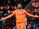 """Salah bất ngờ đứng đầu danh sách """"Vua phá lưới"""" ở Anh"""
