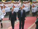 Lễ đón trọng thể Tổng thống Mỹ Donald Trump tại Phủ Chủ tịch
