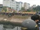 Phát hiện thi thể mặc áo vàng nổi trên sông Tô Lịch