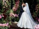 Miranda Kerr lộng lẫy với áo cưới Dior