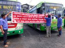 Ngưng chạy xe để phản đối tuyến buýt mới