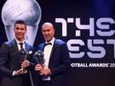 Thầy trò Ronaldo ẵm giải thưởng FIFA