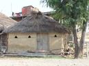 Đi chân đất ở Lumbini
