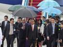 Đoàn đại biểu APEC 2017 đầu tiên đáp xuống Đà Nẵng