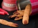 """Halloween """"nhâm nhi"""" món bánh... ngón tay vừa ăn vừa mếu"""