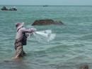 Quá sướng khi xem ngư phủ săn cá đối
