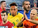 """Đội hình siêu """"khủng"""" nằm nhà xem World Cup 2018"""